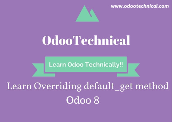 Overriding default_get method