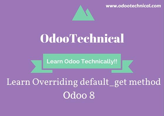 Overriding default_get method
