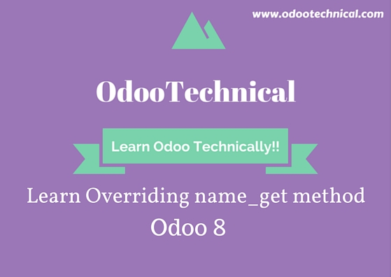 Overriding name_get method odoo 8