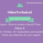 Learn – How to create a Search View in Odoo 8 with Example