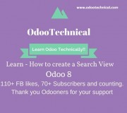 Creating Search VIew Odoo 8
